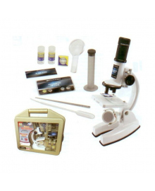 Микроскоп 200х, 600х, 1200х + набор принадлежностей