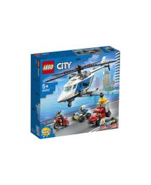 Конструктор LEGO Погоня на поліцейському вертольоті (60243), 5702016617771