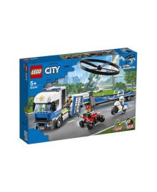 Полицейский вертолётный транспорт LEGO 60244, 5702016617788