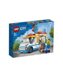 Конструктор LEGO вантажівка морозивника (60253), 5702016617870