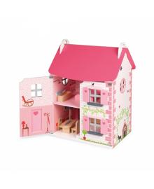 Кукольный домик Janod с мебелью J06581 (J06581) ERC-J06581