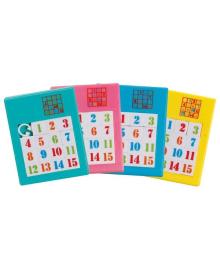 Настольная игра goki Пятнашки голубые 13186G-6 (13186G-6) ERC-13186G-6