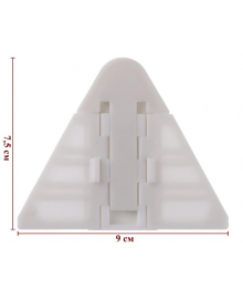 Защита на шкаф купе Z2215 Стандартный Белый Lapchu