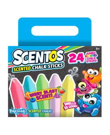 Набор ароматных мелков Scentos Яркое лето 24 цвета