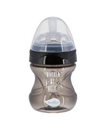 Бутылочка для кормления Nuvita Mimic черная 150 мл
