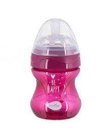 Бутылочка для кормления Nuvita Mimic пурпурная 150 мл
