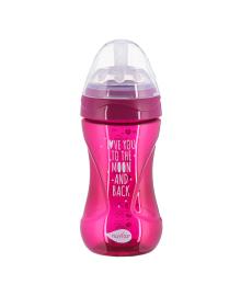 Бутылочка для кормления Nuvita Mimic пурпурная 250 мл