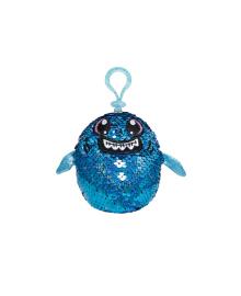 Мягкая игрушка с пайетками SHIMMEEZ S2 – АКУЛА ЗУБАСТИК (SH01052SH) KIDDI-SH01052SH