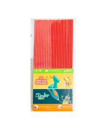 Набор стержней для 3D-ручки 3Doodler Start (3DS-ECO03-RED-24) KIDDI-3DS-ECO03-RED-24