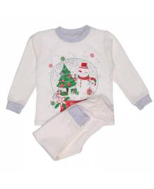 Пижама новогодняя с начесом Татошка рост 116-134см 01971