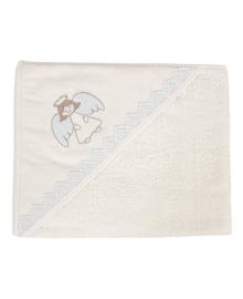 Крестильное полотенце Ceba Ангел крем 95х95 см Ceba Baby W-807-080-110, 5907672322001