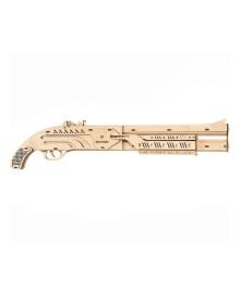 Деревянный механический конструктор Mr.PLAYWOOD Ружье Mr. Playwood 10005/03, 4820204380052