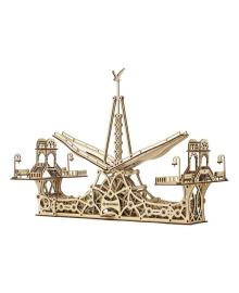 Деревянный механический конструктор Mr.PLAYWOOD Пешеходный мост