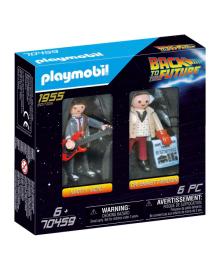 Игровой набор Playmobil Марти Макфлай и доктор Эммет