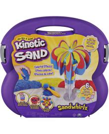 KINETIC SAND Набор песка для детского творчества - ВЕСЕЛЫЕ вихрей (907 g песка, аксес.)
