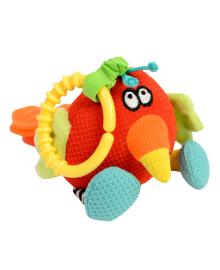 Погремушка-мягкая игрушка Dolce Попугай