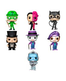 Игровая фигурка Funko Pop Batman Villains 9,6 см (в ассорт)
