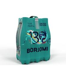 """Упаковка мінеральної лікувально-столової сильногазованої води """"Боржомі"""" 1,0 л х 6 пляшок"""