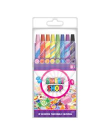 Набор ароматизированных восковых карандашей Sweet Shop 8 шт
