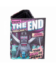 JINX Minecraft Кошелек Tales from the End Tri-Fold Wallet-N/A-MultiColor