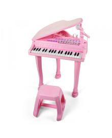Игрушка пианино со стулом Baoli 1403 (розовый)