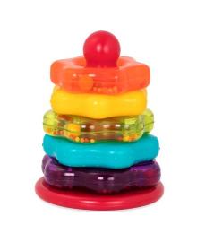 Развивающая игрушка Battat Lite Цветная пирамидка