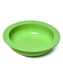 Глубокая тарелка Fissman Kids зеленая 260 мл