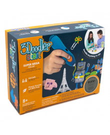 Набор 3D-ручка 3Doodler Start Мегакреатив 3DS-MEGA-E-R-17
