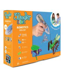 Набор 3D-ручка 3Doodler Start Роботехника