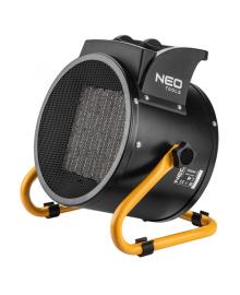 Обогреватель тепловая пушка керамический NEO TOOLS 3 кВт, PTC, 60м2, 280 м3/ч (90-063) ERC-90-063
