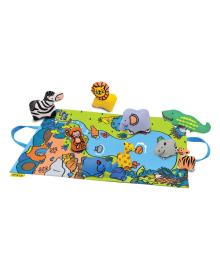 Игровой набор K's Kids 3D коврик Jungle