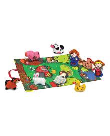 Игровой набор K's Kids 3D коврик Farmyard