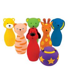 Игровой набор K's Kids Разноцветный боулинг