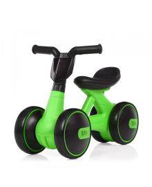 Детская каталка-толокар BAMBI M 4086-5, мотоцикл, зеленая