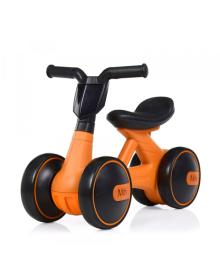 Детская каталка-толокар BAMBI M 4086-7, мотоцикл, оранжевая