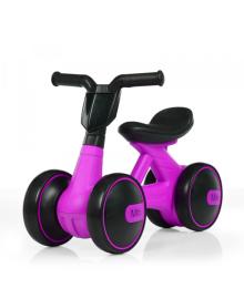 Детская каталка-толокар BAMBI M 4086-9, мотоцикл, фиолетовая