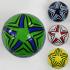 Мяч футбольный F 22060 (60) 4 цвета, 260-280 грамм, размер №5  ВЫДАЕМ МИКС
