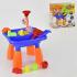 Детский столик для песка и воды  HG 608 (6) в коробке