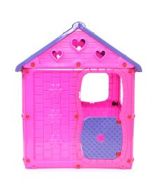 Детский игровой домик (8102) розовый