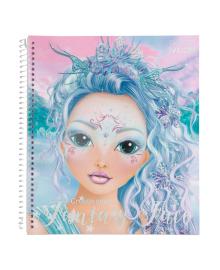 Альбом для раскрашивания Fantasy Model Фэнтези Лицо 411240, 4010070562267