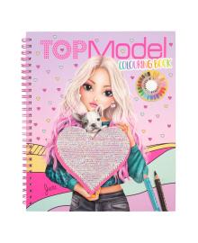 Альбом для раскрашивания Top Model Heart 411146, 4010070544652