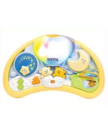 Музыкальный ночник Мишки на воздушном шаре