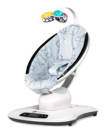 Кресло укачиватель 4moms mamaroo silver plush