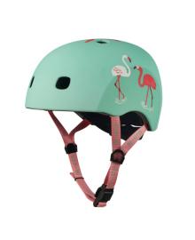 Шлем защитный детский Micro Flamingo M PC AC2124BX, 7640170577501