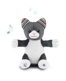 Мягкая игрушка с интерактивными хлопками и пением Zazu котик Хлои