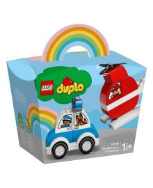 LEGO® DUPLO® Пожарный вертолет и полицейская машина 10957