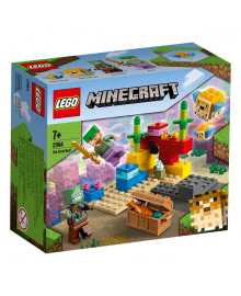 LEGO® Minecraft™ Коралловый риф 21164