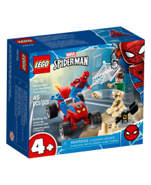 LEGO® Super Heroes Marvel Spider-Man Схватка Человека-Паука и Песчаной Человека 76172, 5702016912777