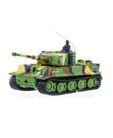 Танк на радиоуправлении 1:72 GWT Tiger 2117 (хаки зеленый)