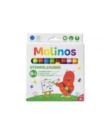Штампы-фломастеры волшебные меняющие цвет MALINOS Stempelzauber 9 (9+1) шт
